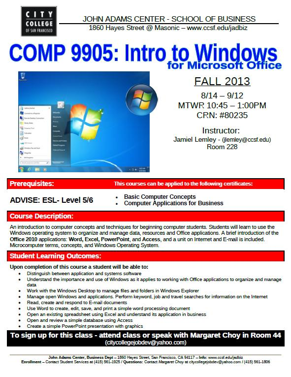 comp 9905